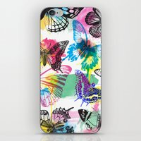 Butterfly Pattern iPhone & iPod Skin