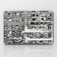 Highly Resolved Ghost (P/D3 Glitch Collage Studies) iPad Case