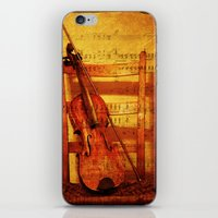 Fiddle iPhone & iPod Skin