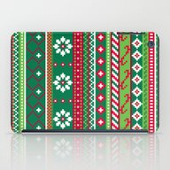 Fair Isle Christmas Patt… iPad Case