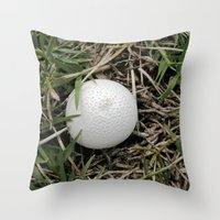 Fungus Growing In Queens… Throw Pillow