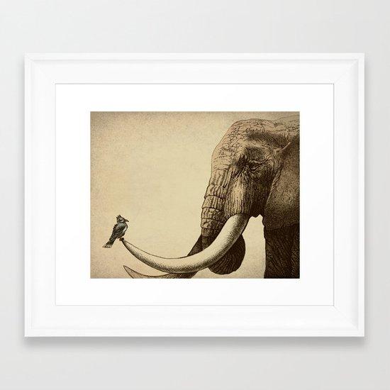 Old Friend Framed Art Print