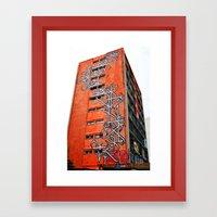 O-building Framed Art Print
