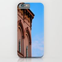 iPhone & iPod Case featuring Cherubs on the Ledge by Biff Rendar