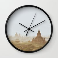 Bagan III Wall Clock