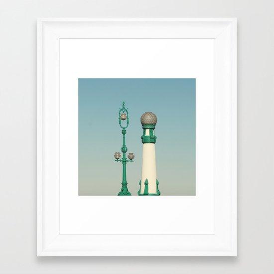 Kursaal Bridge No.2 Framed Art Print