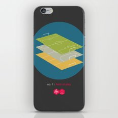 Law No.1: Field of Play iPhone & iPod Skin