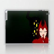 Mischief from Shadows (Lady Loki as Scarlet Witch) Laptop & iPad Skin