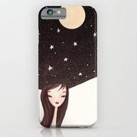 iPhone & iPod Case featuring night hat by Renia