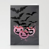 halloween Stationery Cards featuring Halloween by mark ashkenazi