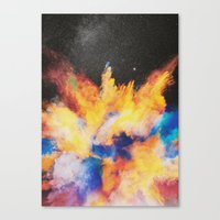 Lovebomb Canvas Print