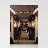 Innsbruck Train Stationery Cards