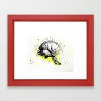 summer is coming Framed Art Print