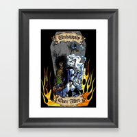 Unhappily Ever After - L… Framed Art Print