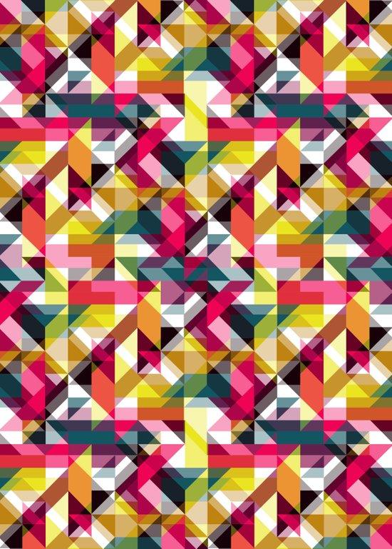 Aztec Geometric VII Art Print