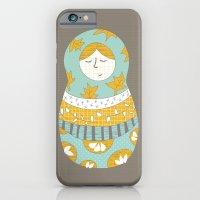 Autumnish mamushkas iPhone 6 Slim Case