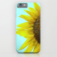 Sunflower Mint iPhone 6 Slim Case