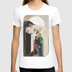 Betrayal Womens Fitted Tee White SMALL