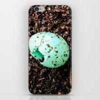 Something Blue iPhone & iPod Skin