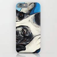 iPhone & iPod Case featuring Tonka Dog Art by WOOF Factory
