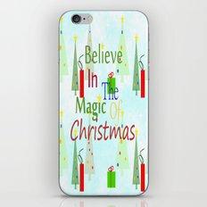 Christmas Magic iPhone & iPod Skin