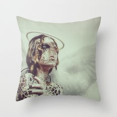 Dissimulation Throw Pillow