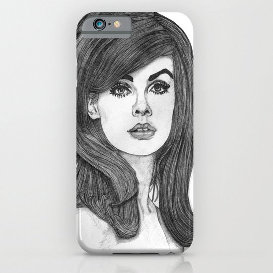 Jean Shrimpton iPhone & iPod Case