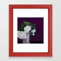 Julep & Gardenias Framed Art Print