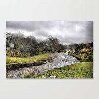 Exmoor uk Canvas Print