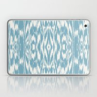 Ikat: Light Blue Ivory Laptop & iPad Skin