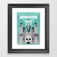 Castle Grayskull Framed Art Print