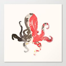 Marble Octo Canvas Print
