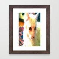 pure angel  Framed Art Print