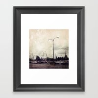 Urbania Two Framed Art Print