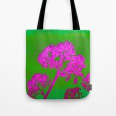 Funky Floral - JUSTART © Tote Bag