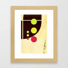 Traffic Light Tragedy Framed Art Print