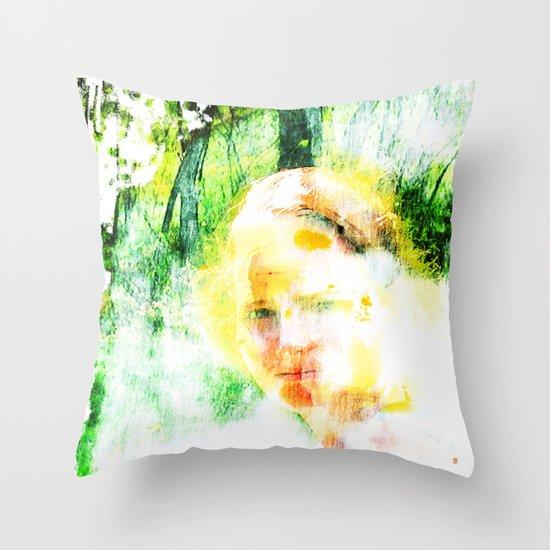 Miss. Sunshine  Throw Pillow
