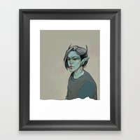 Monster #2 Framed Art Print
