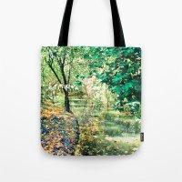 Hidden Autumn Creek Tote Bag