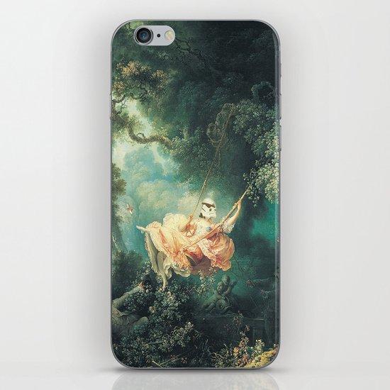 "Homage to Fragonard, ""The Swinging Stormtrooper"". iPhone & iPod Skin"