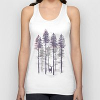 The trance of a deer Unisex Tank Top