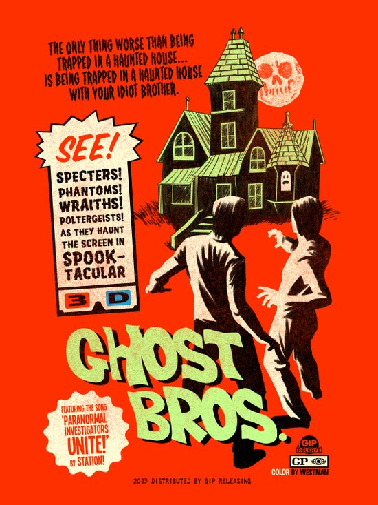 Ghost Bros! Art Print