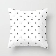 Swiss//Twenty Throw Pillow
