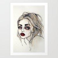 Frances Bean Cobain No… Art Print