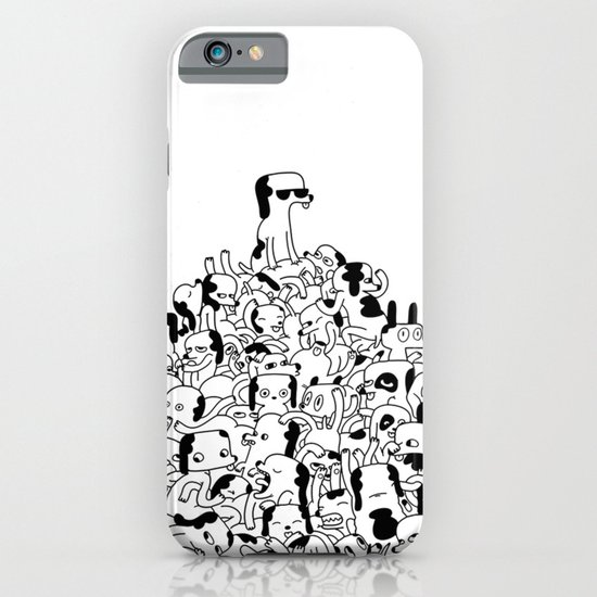 Pupper Pile iPhone & iPod Case
