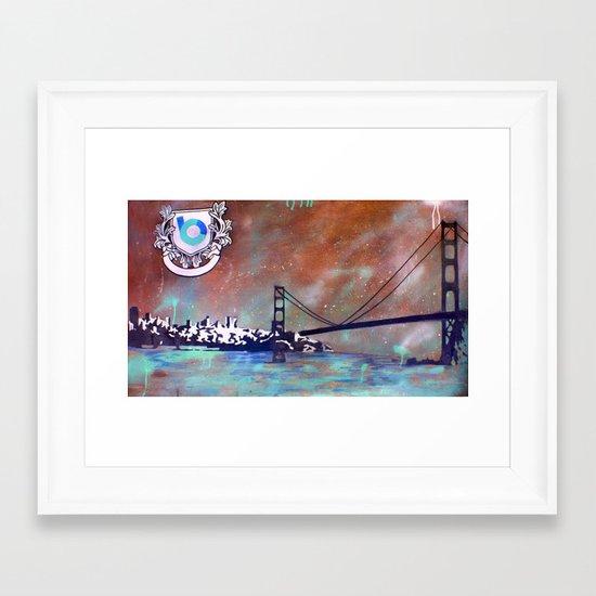 SFCTY Framed Art Print