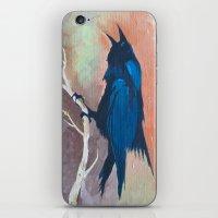 Crow Scream iPhone & iPod Skin