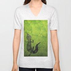 Leopard Gecko Unisex V-Neck
