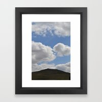 Dartmoor Tor Framed Art Print