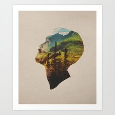 Out Of Mind Art Print